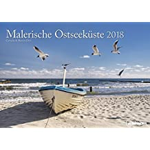 Malerische Ostseeküste 2018 - Meereskalende, Strandkalender, Landschaftskalender, Ostseekalender  -  29,7 x 42 cm