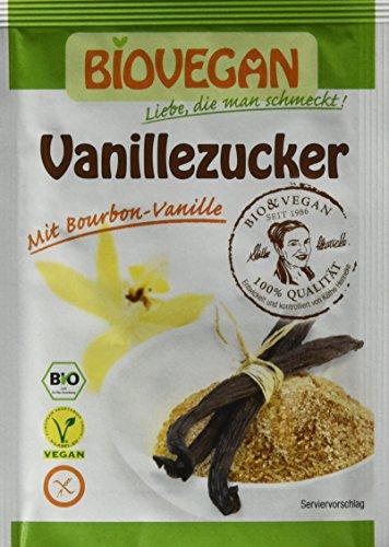 Bio Vegan Käthes Vanillezucker 5x8g Bio Backzutat, 10er Pack (10 x 40 g)