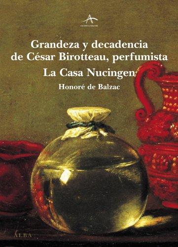 Grandeza y decadencia de César Birotteau por Honoré de Balzac