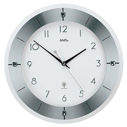 AMS 5848 Modern - Reloj de pared (metal)