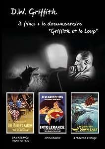 Les Trésors du cinéma : D.W. Griffith - La Naissance d'une Nation (The Birth of a Nation) - Intolerance - A travers l'orage (Way Down East) - Documentaire D. W. Griffith et le loup - Portrait de l un des maîtres de Hollywood - Coffret 4 DVD