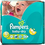 Pampers Baby Sec Taille 6 Extra Large 16 Kg + (31)