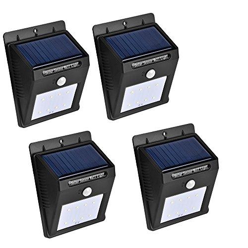 meilleures lampes solaires d'extérieur ConPush Solar Lights