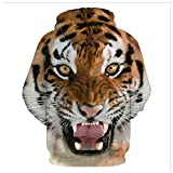 Wonny Unisex 3D Druck Hoodies Long Sleeve Kapuzenpullover Herbst Winter Sweatshirt Kapuzenjacke Tiger XL