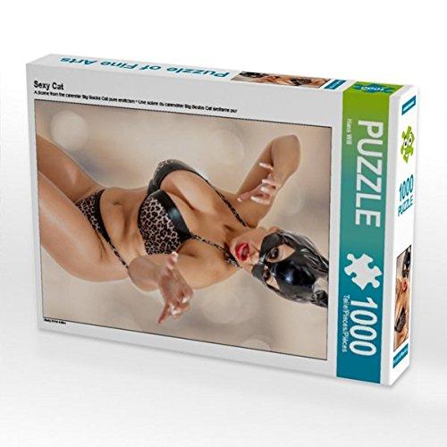 Sexy Cat 1000 Teile Puzzle hoch (CALVENDO Menschen)
