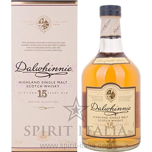 Dalwhinnie Single Malt Whisky 15 Years Old GB 43,00 % 0.7 l.