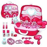 Fai finta di giocare Kit di gioielli per ragazze - Set di giocattoli principessa Regalo per Bambini di 3 anni