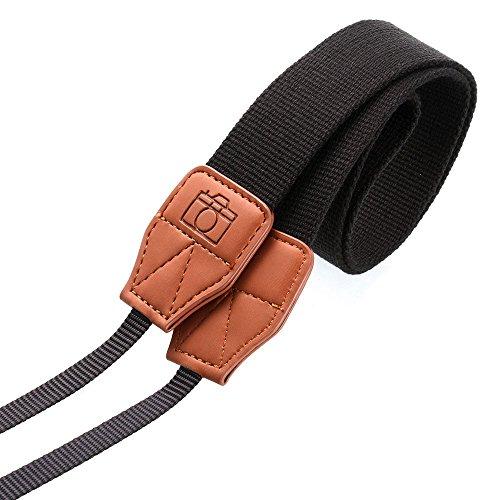 , Hals, hoyoo Schultergurt Kamera-Sling-Tasche, Nylon, Gürtel für DSLR Nikon Canon Sony Panasonic (Schulter Camara)