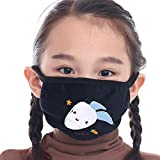LIUQIAN Protección contra el resfriado Infantil máscara Caliente Dibujos Animados Forma Invierno a Prueba de Viento máscara Resistente al Polvo