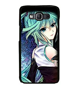 Fuson Designer Back Case Cover for Samsung Galaxy On7 G600Fy :: Samsung Galaxy Wide G600S :: Samsung Galaxy On 7 (2015) (Blue Eyes Pretty Girl Beautiful girl Lovely Girl Warrior Girl)