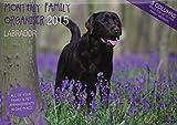 Familienplaner Kalender 2015 - Labrador - Magnet & Steel