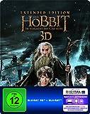 Der Hobbit: Die Schlacht der fünf Heere - Extended Edition Steelbook (exklusiv bei Amazon.de) [3D Blu-ray] [Limited Edition] -