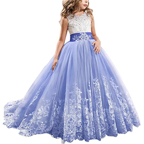 Women's Bags Popular Brand Flower Lace Fashion Girl Kids Fille Jolie Tutu Dress Babies Girls Long Sleeve Vestidos Princess Party Wedding Tulle Dresses An Indispensable Sovereign Remedy For Home Wallets