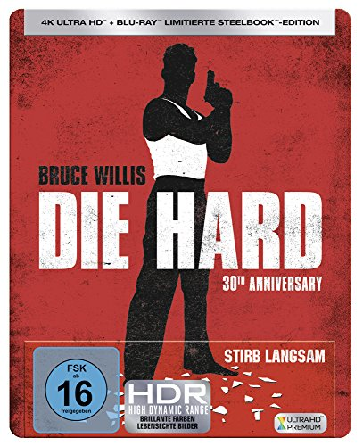 Stirb Langsam 30th Steelbook [Blu-ray] [Limited Edition]