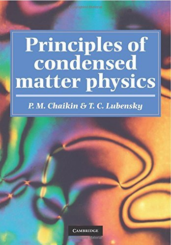 Principles of Condensed Matter Physics by Chaikin, P. M., Lubensky, T. C. (September 28, 2000) Paperback