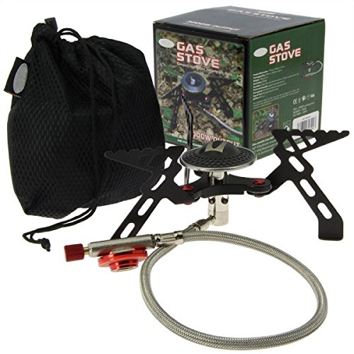 G8DS® Campingkocher Set transportabel mit Tasche Camping Jagd Angeln