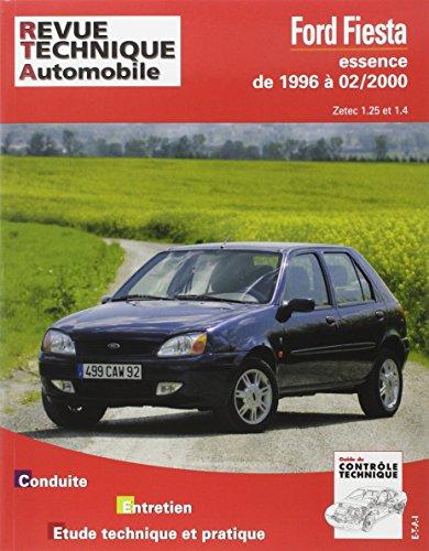 Ford Fiesta depuis 1996: Moteurs essence Zetec 1.25 et 1.4