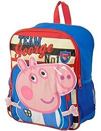 bebamour Kids Bolsa Peppa Pig Niños Mochila Infantil Bolso de escuela
