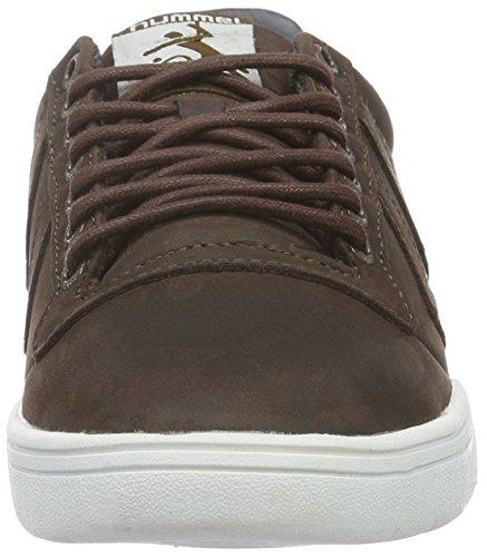 Hummel Hml Stadil Winter Low Sneaker, Baskets Basses Mixte Adulte Marron (Chestnut)
