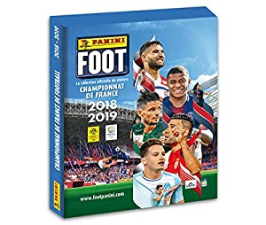 Panini Coffret 1 álbum Cartonné + 50 Fundas Foot Stickers 2018 - 2019, 2428 - 050