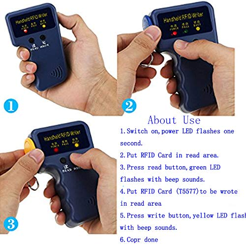 Zoom IMG-3 obo hands handheld 125khz rfid