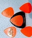 #8: JIM DUNLOP Riffs Guitar Picks 5 Pack (0.60mm) with Pick Holder