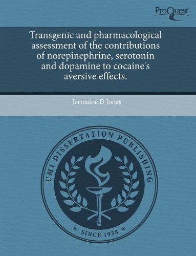 Transgenic and Pharmacological Assessment of the Contributions of Norepinephrine, Serotonin and Dopamine to Cocaine's Aversive Effects