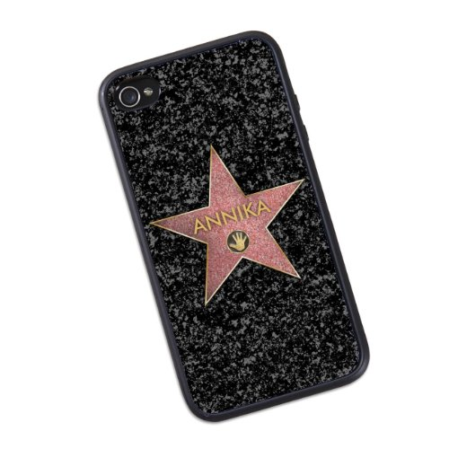privatewear iPhone 4 (s) Case - Road of Fame - mit Name: Annika