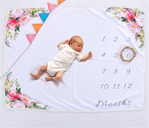 enstein Decke Neugeborenen Fotografie Teppich + Garland,A ()