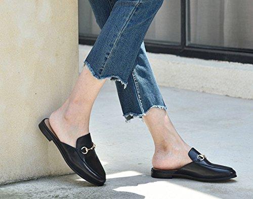 Sandalen Damen Sandalen Hausschuhe Black