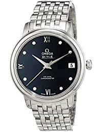 Omega–Reloj de pulsera analógico para mujer automático acero inoxidable 42410332053001