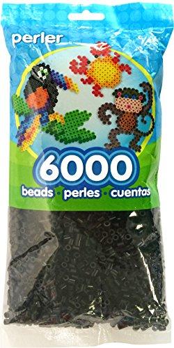Perler Kunststoff, schwarz, 6000 kg
