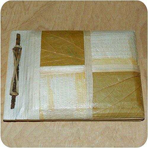 Handmade Notebook Scrapbook Guest Book Handmade Craft Natural 12x 17cm Small Address Book 12 x 17 cm Schachbrett