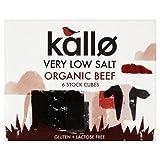 Kallo Organic Low Salt Beef Stock Cubes 51g