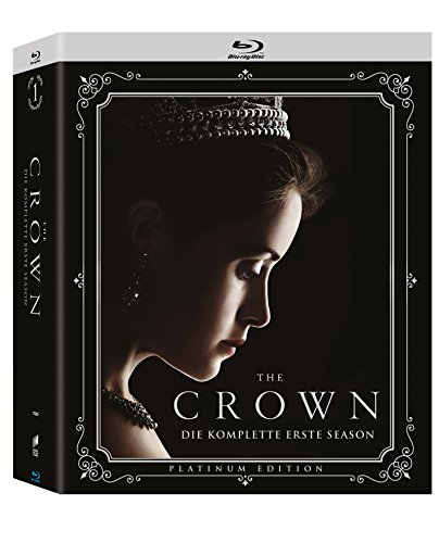 The Crown - Die komplette erste Season (4-Disc Collector's Edition) (Exklusiv bei Amazon.de) [Blu-ray]