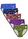 #5: Esteem brand Discharge printed High quality panties pack of 5 pcs