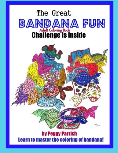 Bandana Fun: Adult Coloring Book