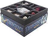 Feldherr Schaumstoff-Set für Descent 2. Edition: Reise ins Dunkel Brettspielbox