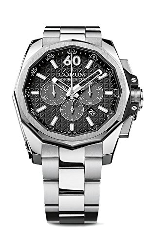 Corum Admiral's Cup Automatic Chronograph Titanium Mens Watch 132.201.04/V200 AN10