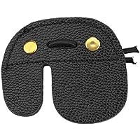 Monllack De Cuero de Vaca de Tiro con Arco Protector de Dedos Protección del cojín Guante lengüeta de Tiro con Arco Adapta Fuerte y Durable para la Mano Izquierda y la Mano Derecha
