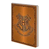 Véritable Housse Flexi Couverture A5 pour Notebook Journal de Harry Potter Poudlard de Warner Bros