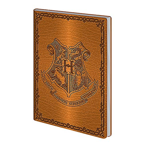 Echte Warner Bros Harry Potter Hogwarts Wappen Flexi A5 Notizbuch Notizbuch Notizblock