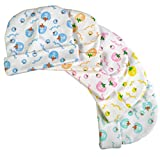 #10: Brim Hugs And Cuddles Printed Cotton Caps for Baby Boys and Girls(Pack of 5)
