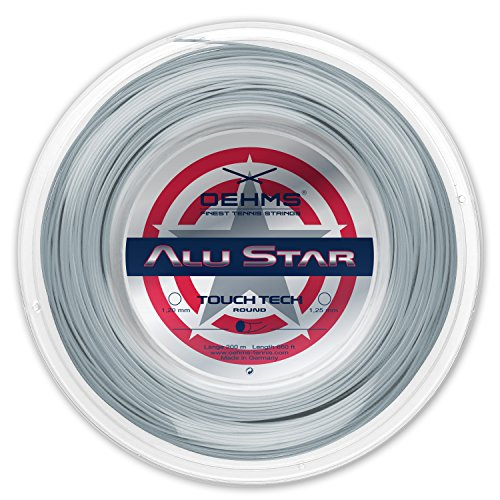 Oehms Alu Star TT | 200m-Rolle | Ø 1,20/1,25 mm | monofile Co-Polyester Tennissaite (1.25 mm)
