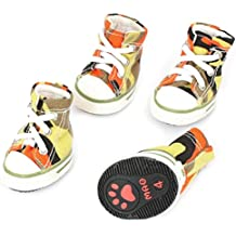 sourcingmap Nailon Cuerda Mascota Zapatos Zapatillas, XS, varios color, par de 2 -