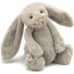 Jellycat BAS3B - Peluche conejo, color marrón