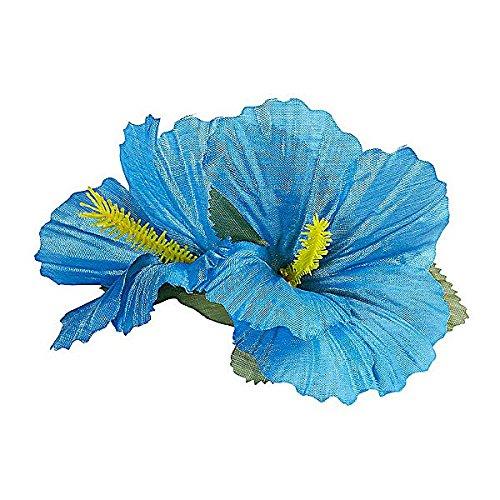 Blumen Haarspange in Blau - Einheitsgröße