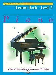 Alfred's Basic Piano Lesson Book 5 --- Piano - Palmer, Manus & Lethco --- Alfred Publishing