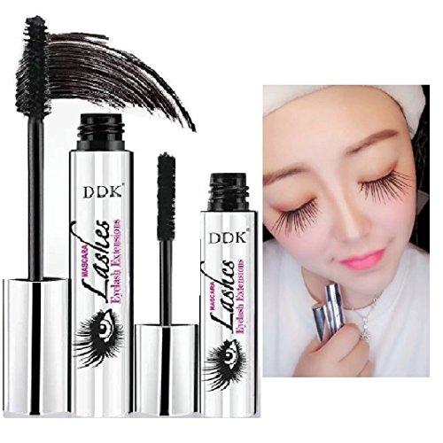 Nicebelle DDK 4D Mascara Cream, Makeup Lash,Cold Waterproof Mascara, Eye Black, Eyelash Extension, crazy-long Style, Warm Water Washable Mascara