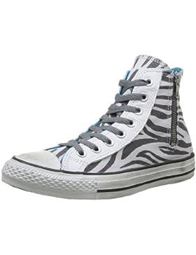 Converse, All Star Hi Side Zip Canvas, Sneaker, Unisex - adulto